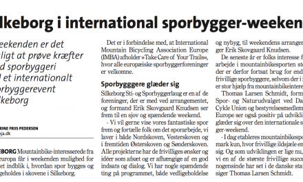 Silkeborg var med i International sporbygger-weekend